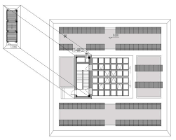 pv plan a plan of roof pv system and b aerial view of the sgzeb
