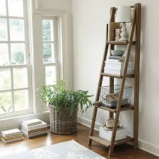 Leaning Shelves Woodworking Plans by Best 25 Leaning Ladder Shelf Ideas On Pinterest Leaning Shelves