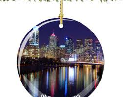 philadelphia ornament etsy