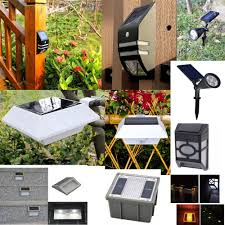 Led Light For Outdoor by Double Spot Light For Outdoor Solar Led Light Materials Security