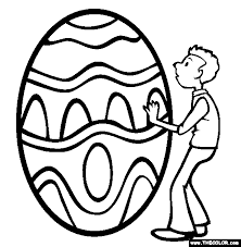 easter coloring pages 1