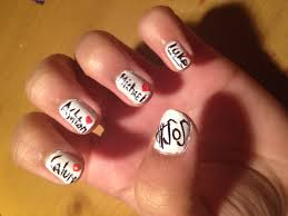 tutorial nail art one direction amazing seconds of summer nail art one direction popular and s
