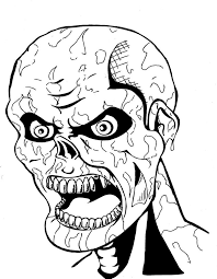 coloring pages pretty halloween coloring pages zombie werewolf