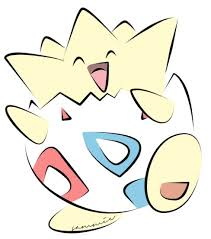 pokemon coloring pages togepi clipart