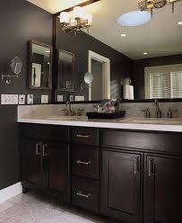 Dark Gray Bathroom Vanity Best 25 Dark Cabinets Bathroom Ideas Only On Pinterest Dark