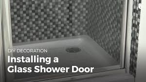 Replacement Shower Door Sweep by Install Glass Shower Door