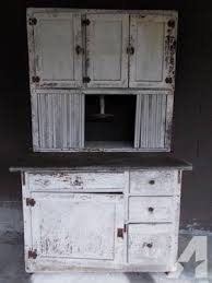 Hoosier Cabinets For Sale by Primitive Farmhouse Hoosier Kitchen Cabinet With Zinc Top 1920s