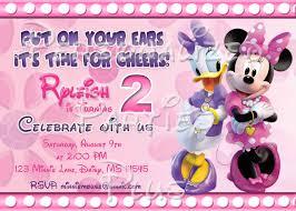 minnie mouse u0026 daisy invitations