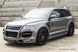 volkswagen touareg 2004 wide body kit for volkswagen touareg mk1 sr66 design body kits