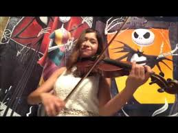 this is violin cover nightmare before