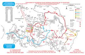 Snowmobile Trail Maps Michigan by Snowmobile Trail Map