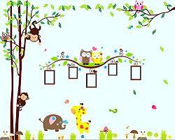 Monkey Nursery Wall Decals Nursery Wall Decals Xl Nursery Tree Owl Monkey Elephant