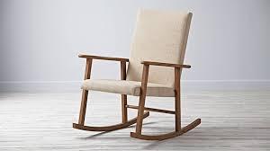 mid century modern rocking chair and ottoman mid century modern