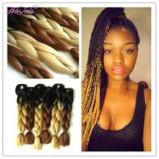 best hair for braid extensions best folded length inch ombre color black brown jumbo hair braid