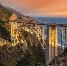 Bixby Bridge Visit California Highway 1 Discovery Route U0027s Foto Feature Bixby Bridge Central