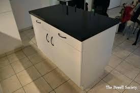 comment fabriquer un ilot de cuisine fabrication d un ilot central de cuisine meuble central cuisine pas
