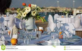 tables set up for wedding reception stock photo image 45191159