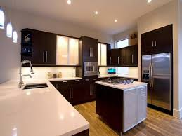 modern u shaped kitchen with grey cabinets advantages of the u