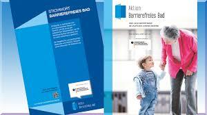 Zuschuss Behindertengerechtes Bad Publikationen Aktion Barrierefreies Bad