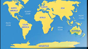 Antarctica World Map by Easy Way To Remember World Map Five Steps Youtube