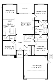 1 level home plans corglife