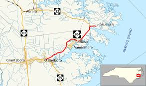 Intracoastal Waterway Map North Carolina Highway 304 Wikipedia