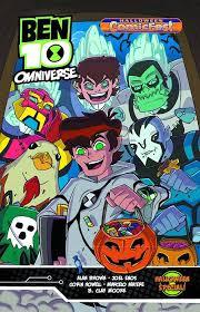 ben 10 omniverse halloween comicfest 1 media