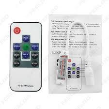 feeldo car accessories car mini rf rgb controller wireless led