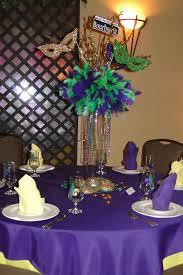 elegant mardi gras table decorations home table decoration
