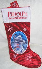 amazon com rudolph bumble snow monster christmas stocking