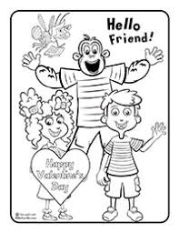 valentine coloring pages sing laugh learn