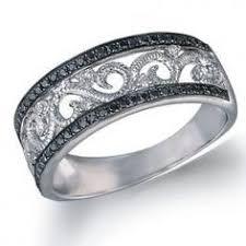 dakota wedding band details about dakota black 10k gold ring wide wedding band