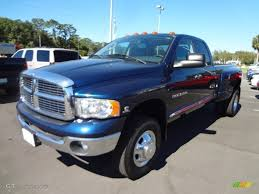 2005 dodge ram 3500 2005 patriot blue pearl dodge ram 3500 laramie cab 4x4 dually