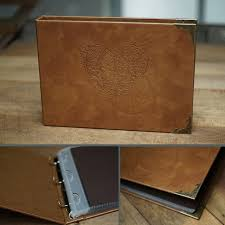 handmade leather photo albums free shipping diy handmade leather inner interstitial european