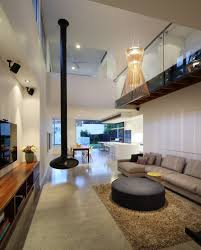 Living Room Pendant Lighting by Decorative Pendant Lights And Fireplace For Modern Living Room