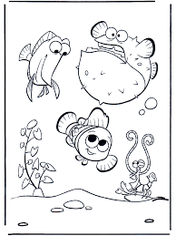 7 nemo coloring pages