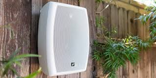 Wireless Outdoor Patio Speakers The Best Outdoor Speakers Wirecutter Reviews A New York Times