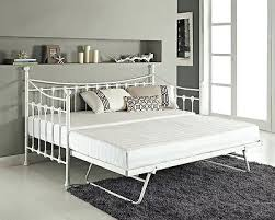 White Daybed With Pop Up Trundle White Metal Trundle Daybed U2013 Heartland Aviation Com