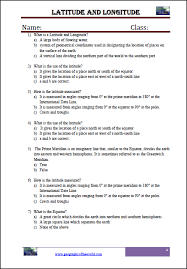 basic geography concepts printable worksheets for kids pdf