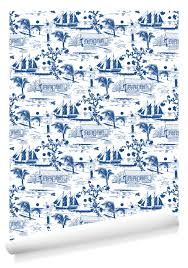 new nautical wallpaper from kate thornley hall canadapress org