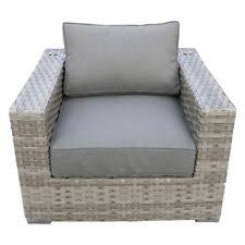 Patio Club Chair Threshold Southcrest Wicker Stacking Patio Club Chair Gray Ebay