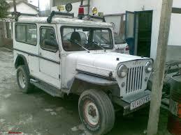 cj jeep my mahindra cj 4 macedonia team bhp