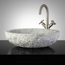vessel sinks glass copper steel u0026 stone signature hardware
