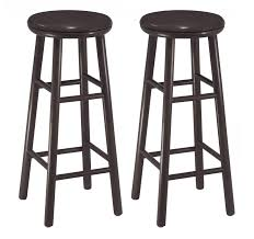 Inexpensive Bar Stools Furniture Modern Round Pink Cuhsion Swivel Bar Stools