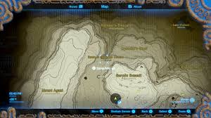 World Of Ice And Fire Map by Zelda Breath Of The Wild Guide The Eighth Heroine Location And