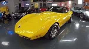 black and yellow corvette 1973 corvette l82 convertible yellow black 60 590 4 speed