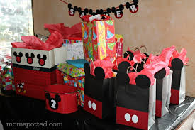 mickey mouse favor bags mickey mouse diy birthday goody party bags
