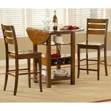 3 piece counter height table set ridgewood 3 pc counter height drop leaf dining set mahogany