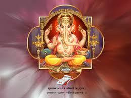 Ganpati Invitation Card In Marathi Ganesh Chaturthi Greeting Cards Coloring Pages