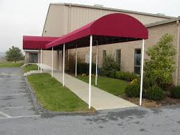 Shop Awnings And Canopies Commercial Project Gallery Kreider U0027s Canvas Service Inc
